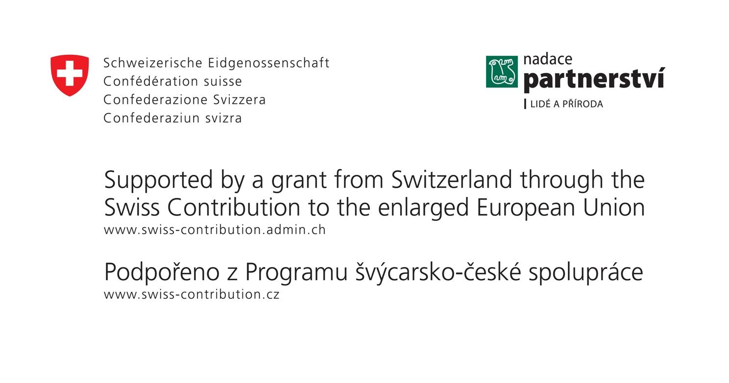Podpořeno Švýcarskými finančními mechanismy